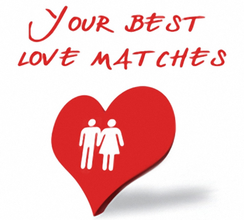 Your best love matches